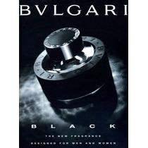 Perfume Bulgari Black 75ml - 100% Original / Lacrado.