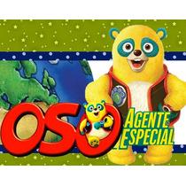 Kit Imprimible Candy Bar Golosinas De Oso Agente Especial