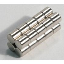 Imanes De Neodimio De 6 X 6mm Paquete De 15 Unidades