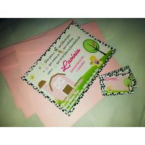 30 Convite Infantil Fazendinha 10x15 C/ Envelope