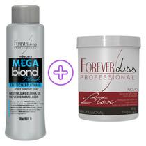 Mega Blond Black Máscara Matizadora + Btox Capilar Argan Oil