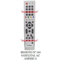 Control Remoto Canalera Satelital Az America 166