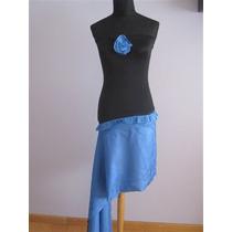 Vestido Straples Elastizado Egreso 15 Años Falda Ajustable