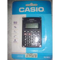 Calculadora Casio Electronica De Bolsillo Hl-4a-s 8 Digitos