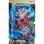 Morral Con Ruedas Avengers Ironman+colores Kores Y Marcador