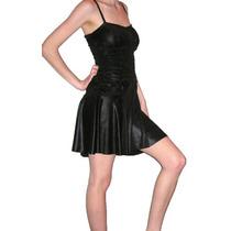 Vestidos Cortos De Lycra Ajustados T Xs A M $ 390