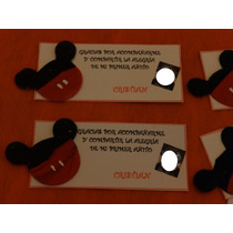 Souvenirs Mickey Mouse Porcelana Fria-cumpleaños-nacimiento