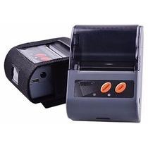 Mini Impressora Térmica Bluetooth 58mm De Bolso Para Recibos