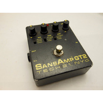 Pedal Guitarra Sansamp Gt-2 Tech 21 Gt2 + Fonte Original