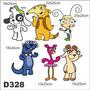 Adesivo Decorativo Infantil Doki E Seus Amigos D328
