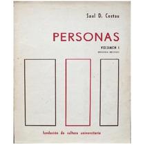 Personas - Saúl Cestau - Volumen 1 - Tercera Edición - Fcu