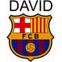Vinil Decorativo Rotulado Personalizado F. C. Barcelona