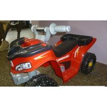 Moto 4 Ruedas Para Niños Fisher Price Kawasaki