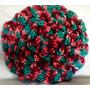 Almohadon Crochet Con Relleno De Vellon