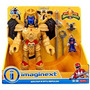 Fisher Price Imaginext Power Rangers Goldar Y Rita Repulsa N