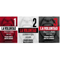 La Voluntad - 3 Tomos - Anguita/ Caparros - Planeta