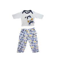 Pijama Bebê Hipo Tamanho 02 Meses-02anos Zig Mundi