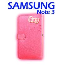Funda Cartera Hello Kitty Para Samsung Note 3