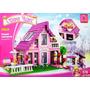 Bloques Armar Casa Balcon Compatible Lego 825 Ps Niñas 24801