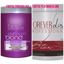 1 Botox Forever Liss +1 Botox Matizador Platinum Blond