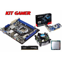 Kit Gamer Core I5 3470 Memória 8gb Placa Vídeo 1gb Hdmi