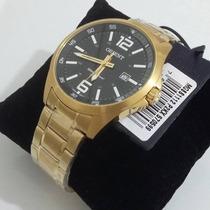 Relógio Orient Masculino Mgss1112 P2kx - Dourado