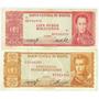 Bolivia - Billetes 50 Y 100 Bolivianos 1962