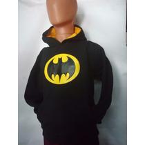 Buzo Canguro Infantil Batman Super Oferta