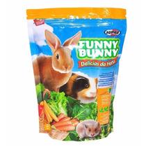 Ração Funny Bunny Delicias Da Horta 07 Pct 1,8 Kg