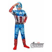 Disfraz Capitan America, Iron Man Y Hulk Originales Dc