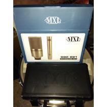 Combo De Microfonos Mxl 990 Y 991 Para Estudio Nuevo