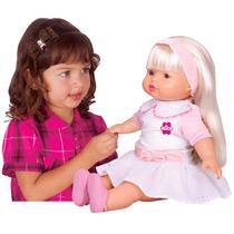 Boneca Interativa Alice Sabidinha Canta Fala 1813 Baby Brink