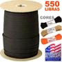 Paracord 550 7 Filamentos Metro 250kg Fabricado Nos Eua