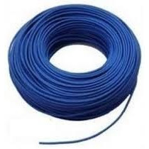 Cable Utp X Metro Cat5e 80% Cobre Color Azul Internet Camara