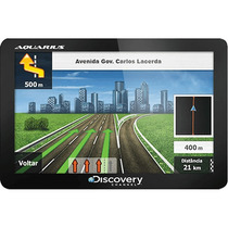 Gps Aquarius Discovery 4,3 Slim Touch Screen Lacrado Compre