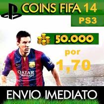Fifa Coins Ps3 50.000 Cinquenta Mil Coins Fifa 14 De Ps3