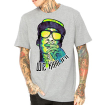 Camisa Camiseta Wiz Khalifa Gang Rap Hiphop