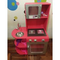 Mueble De Cocina Juguete Para Nenas Con Luces