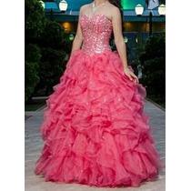 Vestido Quinceañera, Quinceaños, Reina Talla 4