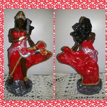 Imagem, Estatua Yansã. Oxum, Nanã, Yemanja, Logunã 20 Cm