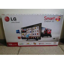 Smart Tv Led Lg 42 Cinema 3d 42la6200 Como Nuevo