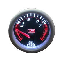 Auto Gauge Pressão De Oleo 7 Bar 52mm Serie Smoke
