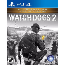 Watch Dogs 2 Dos Playstation 4 Ps4 Golden Edition