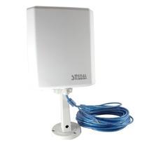 Antena De Red Wi-fi P/exteriores Usb Cable 10mts Sku Sk10tn