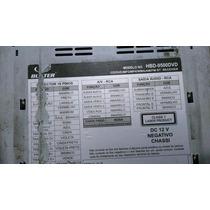 Tela Do Dvd Buster Hbd-_9500 Dvd