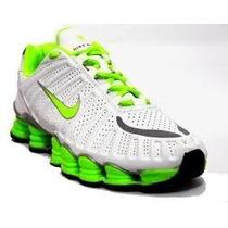 Nike Shox Tlx 12 Molas Na Caixa Original Com Frete Grátis!!!