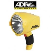Lampara Reflector Halogeno Recargable Emergencia Manual 3805