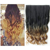 Extension De Cabello Californianas Onduladas Lisas Clips