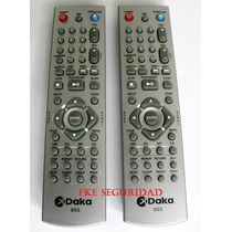 Control Remoto Dvd Daka 003 Incluye Forro Protector