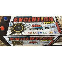 Bateria De Competição Evolution 250 Ah Super Som